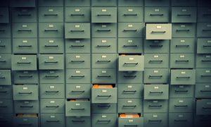 Údaje v šuflíkoch