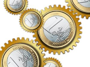 Eurá ako ozubené kolieska